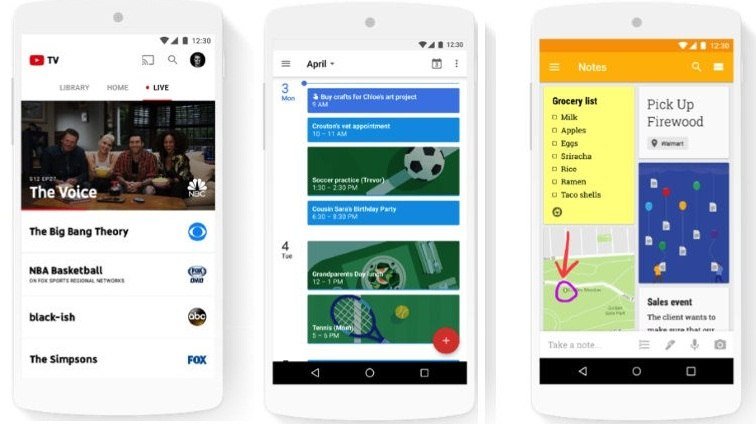 Google with Family story feature