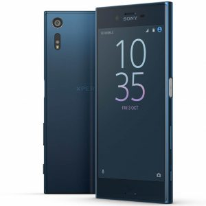Sony Xperia XZ with curved screen