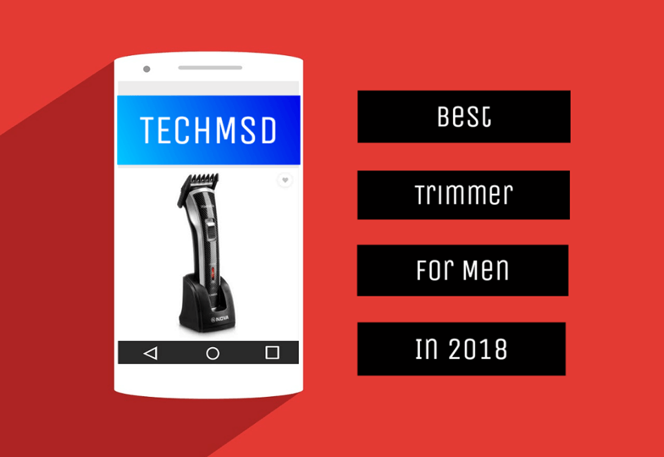 best trimmers for men