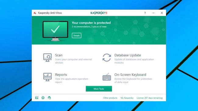 Kaspersky antivirus for windows 10